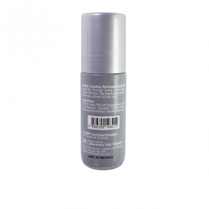 Amby London Perfumed Roll-On Sport Confidence - 50ml