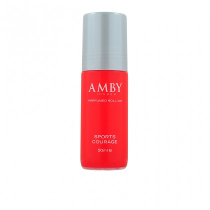 Amby London Perfumed Roll-On Sport Courage - 50ml