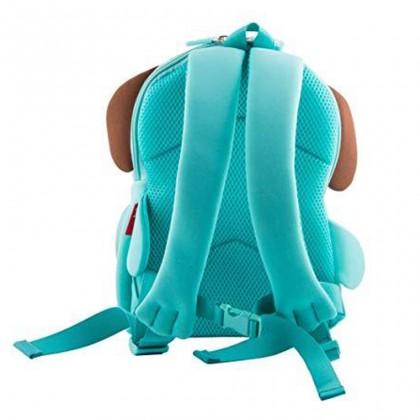 Kids Bag 3D Design Harness Backpack Preschool Travel Bag Waterproof - Turquoise