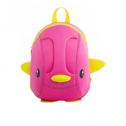 Kid Tri-Duckie 3D Design School Bag Sekolah Bag Preschool Backpack Bags - Pink