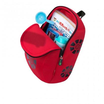 Kid Racing Car Design Children Boy Travel School Bag Beg Sekolah Bags A4 - Red