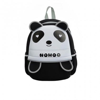 Kid Loving Panda Design Children Boy Travel School Bag Beg Sekolah Bags A4 - Black MZNH013