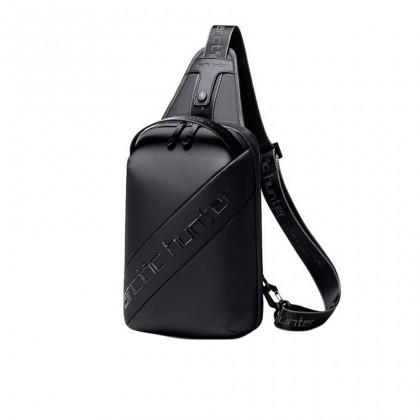 Unisex Professional Shockproof Waterproof Crossbody Sling Bag - Black MZXB00121