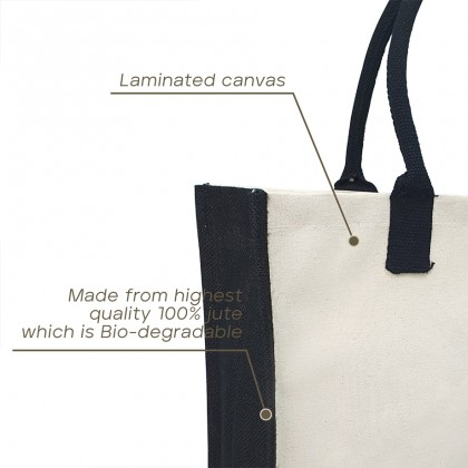 Grocery Shopping Canvas Tote Handle Bag - MZJB04