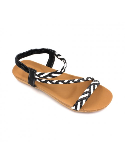 MIDZONE Lady Comfortable Sandals MZSW1186 Black
