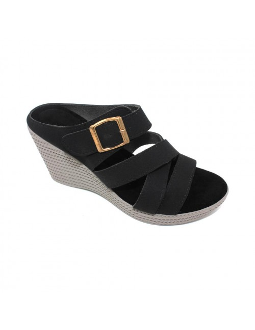 MIDZONE Lady Fashion Wedges MZSW13-1101 Black