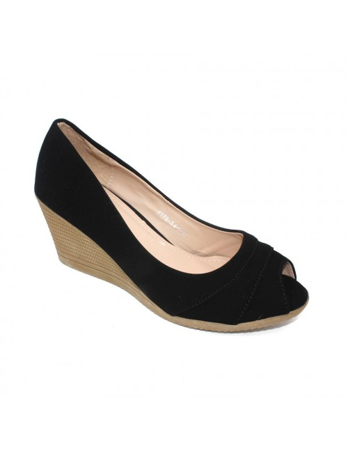 MIDZONE Wedges Pumps MZYY7178-340 Black