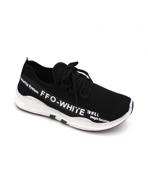 MIDZONE Fashion Sneaker MZYYVEL190 Black