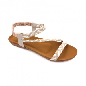 MIDZONE Lady Comfortable Sandals MZYY1186 Beige
