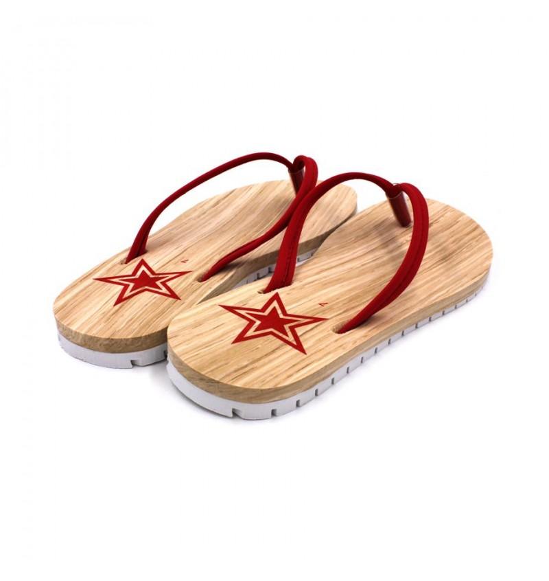 MIDZONE Soft Flip Flops MZYY6-13787 Red