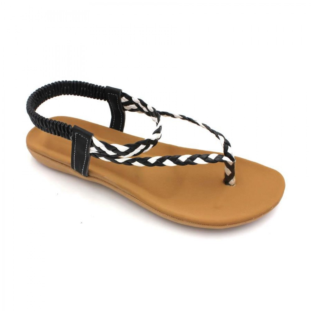 MIDZONE Lady Comfortable Sandals MZYY1185 Black
