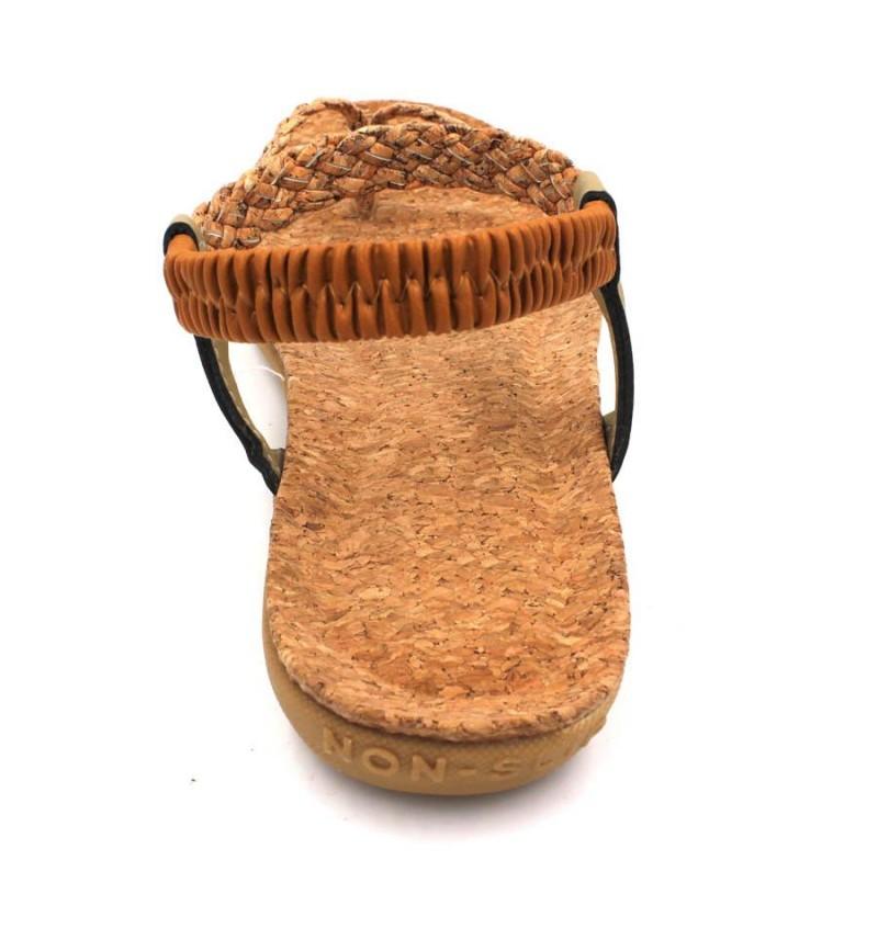 MIDZONE Lady Comfortable Sandals MZYYA1185 Brown