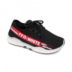 MIDZONE Fashion Sneaker MZYYVEL190 Black Red