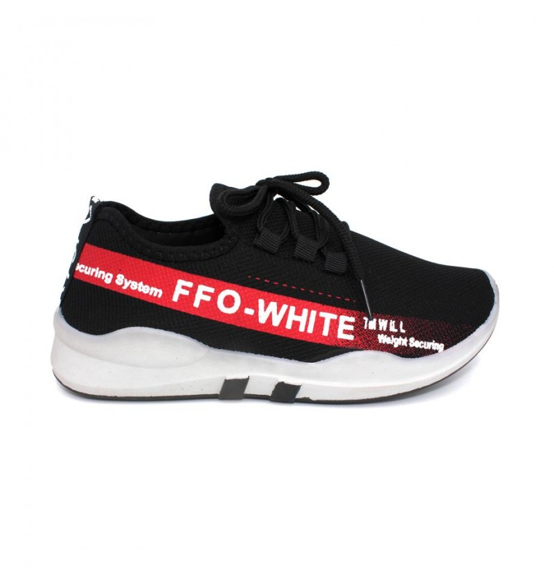 MIDZONE Fashion Sneaker MZYYVEL190 Black Red
