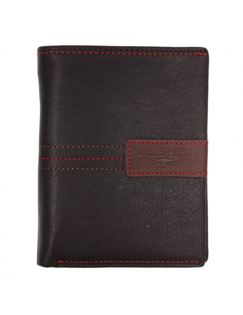 BULL RYDERS RFID Protection Genuine Leather Wallet BWGC-80434