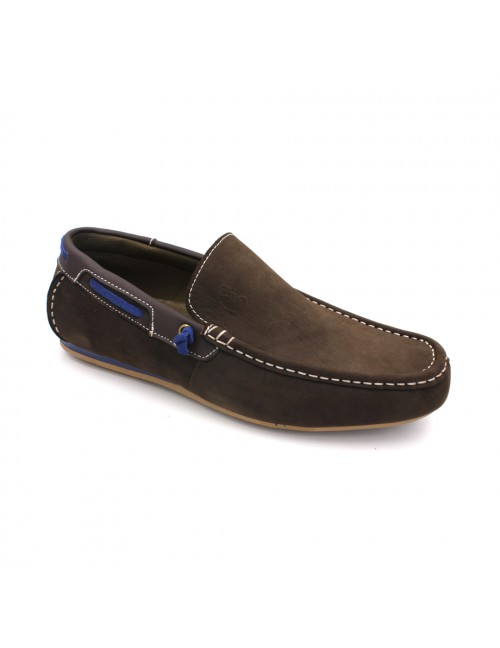 SCORPION Leather Slip On SC311 Coffee