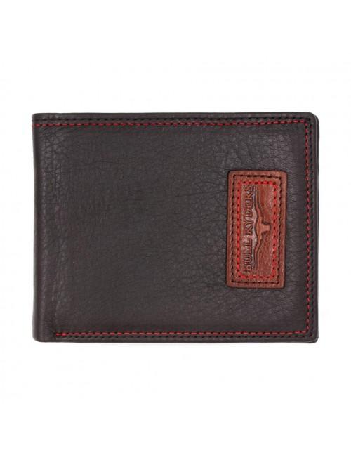 BULL RYDERS Genuine Leather Wallet BWGE-80443