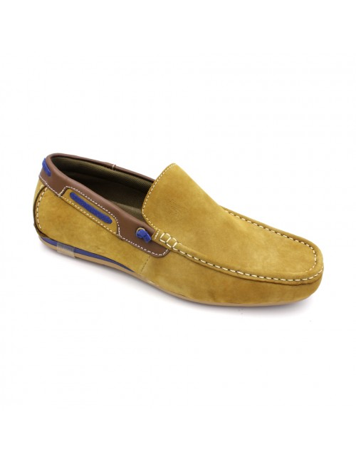 SCORPION Leather Slip On SC311 Yellow