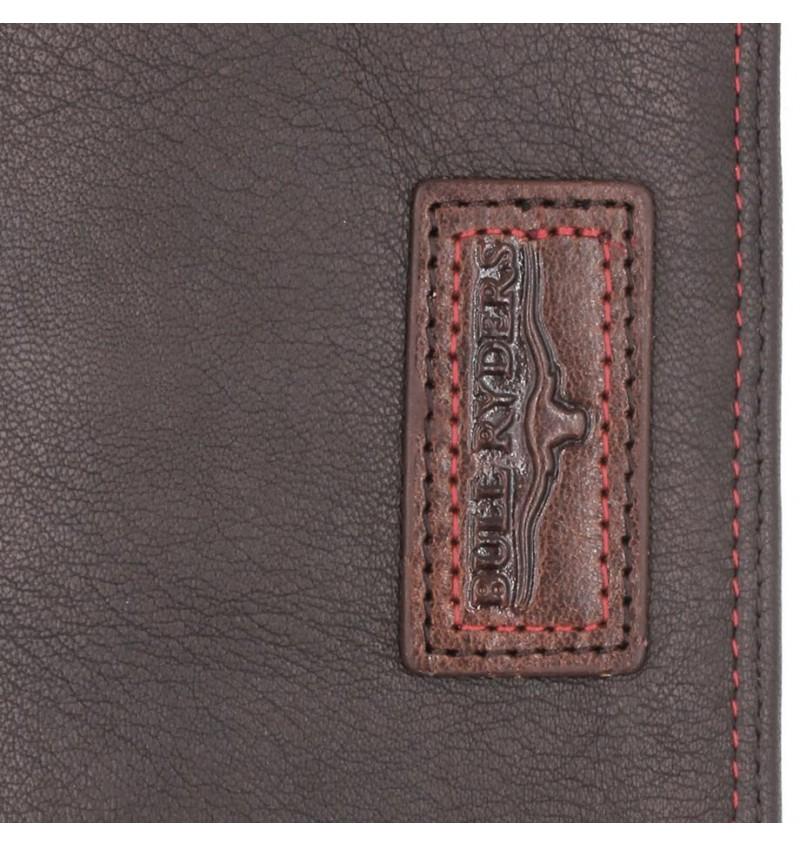 BULL RYDERS Genuine Leather Long Wallet BWGE-80446