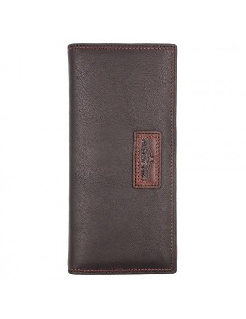 BULL RYDERS Genuine Leather Long Wallet BWGE-80446