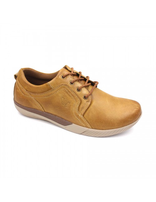 SCORPION Leather Casual Lace Up SC232 Camel