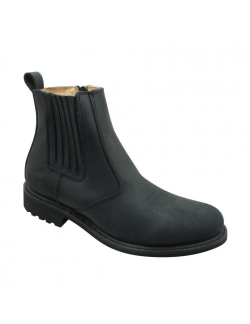 SCORPION Genuine Leather Boots SCA28-3 Black