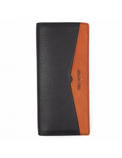 BULL RYDERS Genuine Leather Long Wallet BWEG-80181