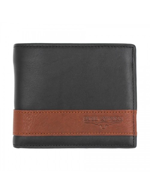 BULL RYDERS Genuine Leather Wallet BWFQ-80360