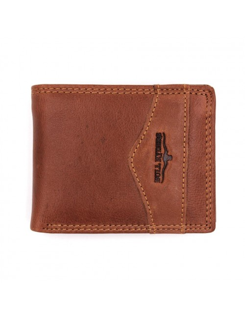 BULL RYDERS Genuine Leather Wallet BWFV-80390