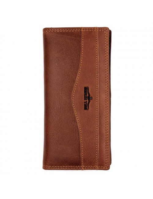 BULL RYDERS Genuine Leather Long Wallet BWFV-80394