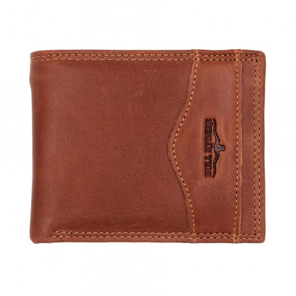 BULL RYDERS Genuine Leather Wallet BWFV-80392