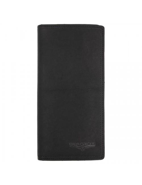 BULL RYDERS Premium Genuine Leather Long Wallet BWFD-80293