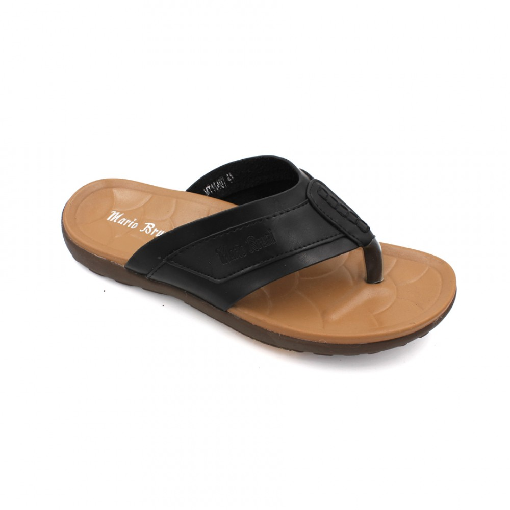 MARIO BRUNI Comfortable Latex Sandals MBMT11407 Black