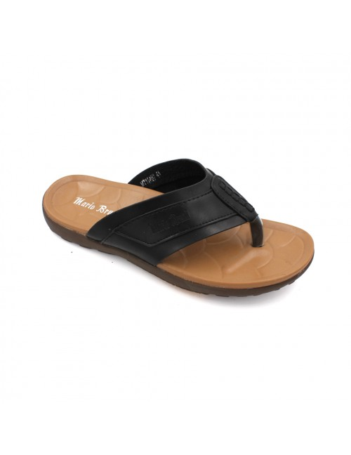 MARIO BRUNI Comfortable Latex Sandals MBMT11407 Black