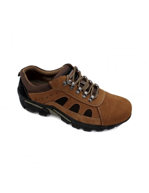 SCORPION Leather Sneaker SCA256-3 Camel