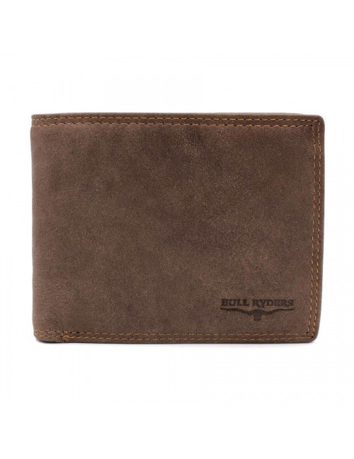 BULL RYDERS Genuine Leather Wallet BWFR-80368