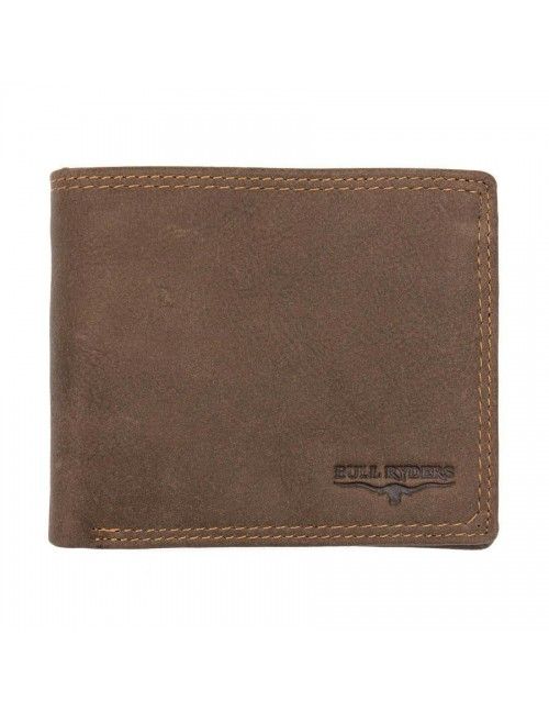 BULL RYDERS Genuine Leather Wallet BWFR-80367