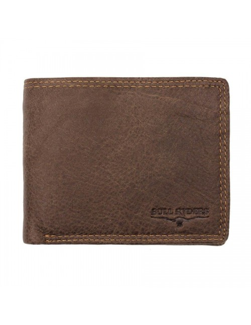 BULL RYDERS Genuine Leather Wallet BWFR-80366