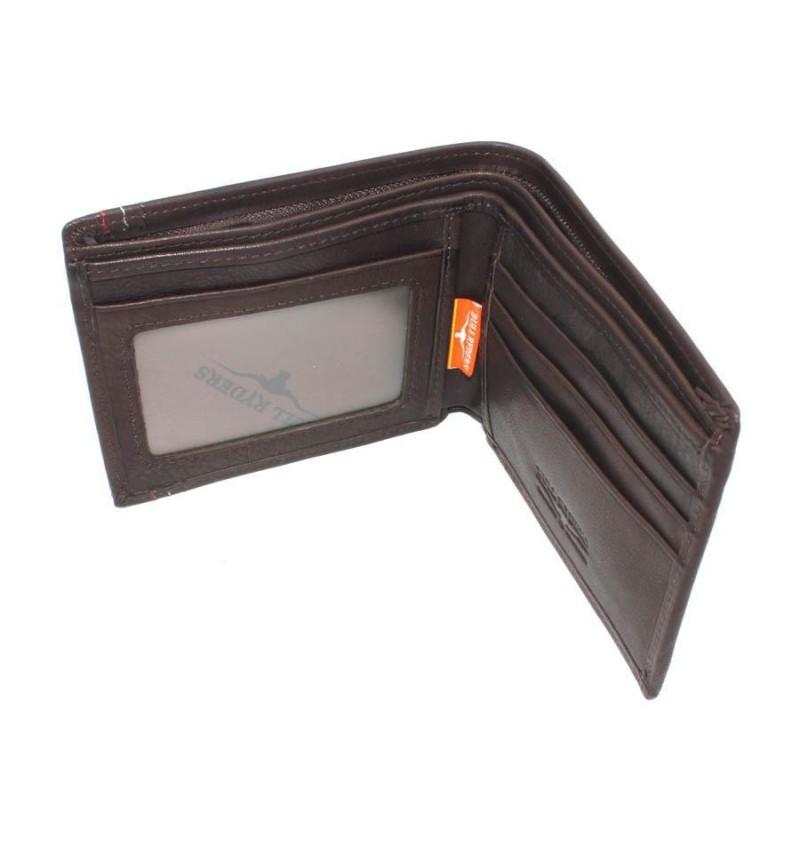BULL RYDERS Genuine Leather Wallet BWFN-80348