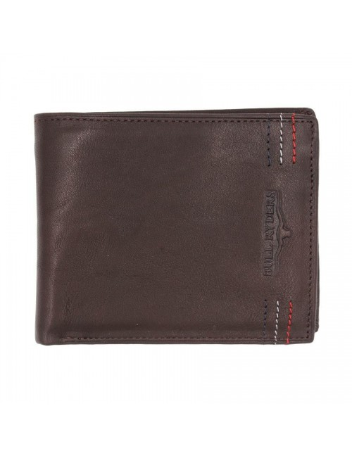 BULL RYDERS Genuine Leather Wallet BWFN-80348