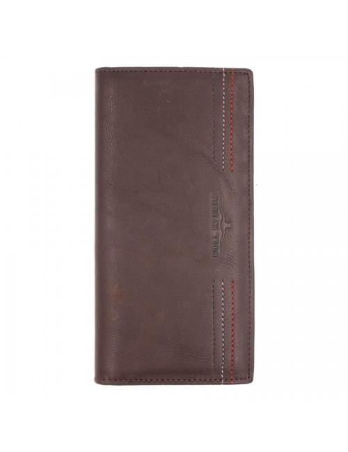 BULL RYDERS Genuine Leather Long Wallet BWFN-80351