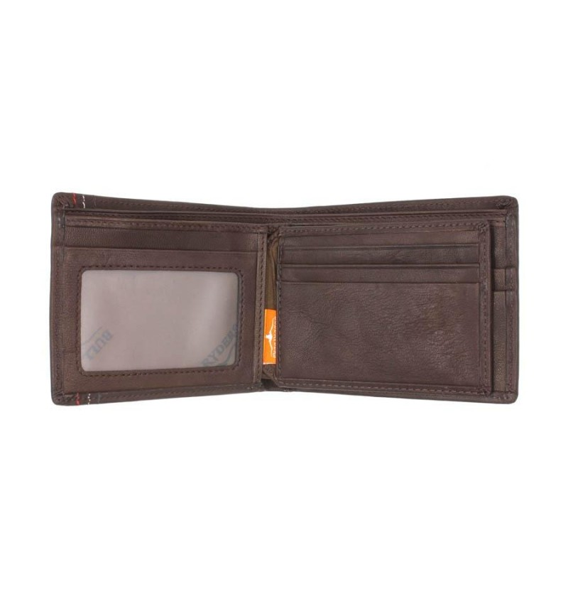 BULL RYDERS Genuine Leather Wallet BWFN-80349