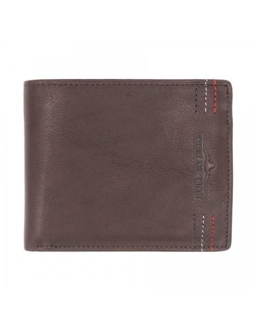 BULL RYDERS Genuine Leather Wallet BWFN-80349
