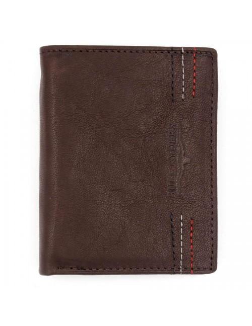 BULL RYDERS Genuine Leather Wallet BWFN-80347
