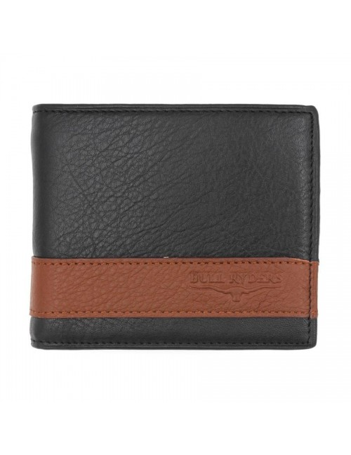 BULL RYDERS Genuine Leather Wallet BWFQ-80361