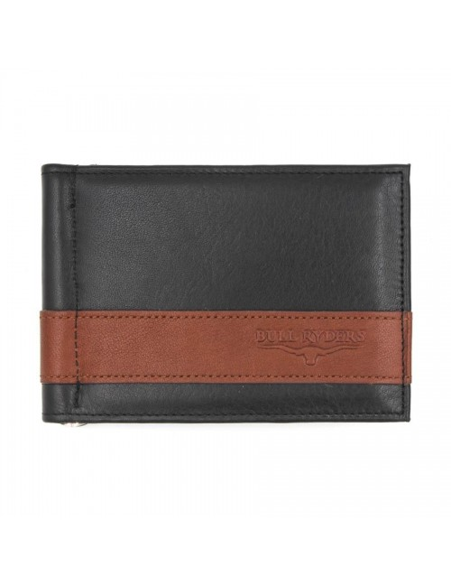 BULL RYDERS Genuine Leather Card Holder BWFQ-80359