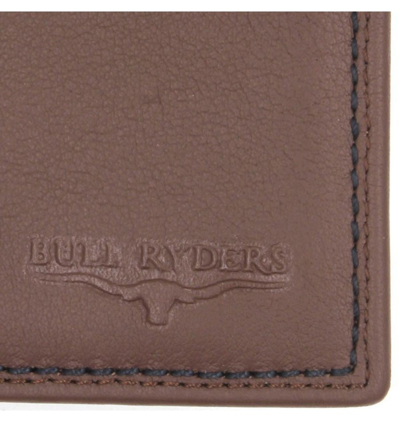 BULL RYDERS Genuine Leather Wallet BWFH-80317