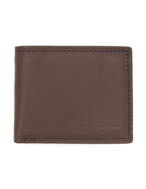 BULL RYDERS Genuine Leather Wallet BWFH-80318