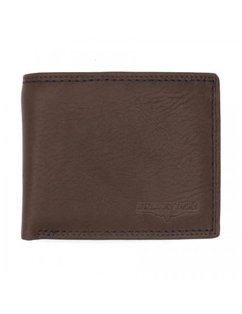 BULL RYDERS Genuine Leather Wallet BWFH-80319