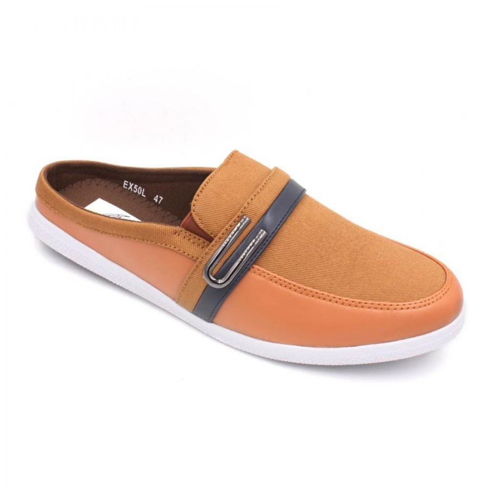 EXO SCORPION Extra Size Slip On EX50L Brown